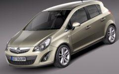 Opel Corsa 1,3L diesel
